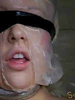 Sexy blond bombshell Courtney Taylor is back with her 38 Triple D boobs! In beauty and stature, this girl is nothing short of Amazonian. Last time we gave her a bit of a rough fuck. This time she is going to experience the ecstasy of brutal bondage. This