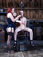 Hazel Hypnotic and Maggie Mead are going to spend some time getting to know each other intimately on the floor of our barn. Very intimately.