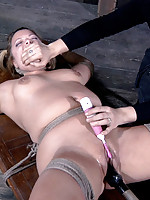 Sammi Sui has a talent as a squirter. It is surprising that she does not like to show it off. Sister Dee decides she does not get a choice. It takes quite a bit of coercion, but Dee makes sure Sammi puts on her show. Sure, she struggles a lot and protests