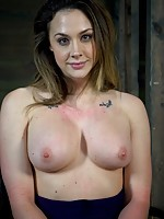 Combine one deep throat, a sexy, flexible body and a desire to please and you have the make-up of our perfect bondage model, Chanel Preston.